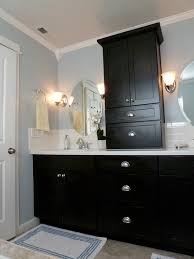 Diy Bathroom Remodel Husband Wife Weeks The Completed Renovation - Remodeled bathrooms before and after