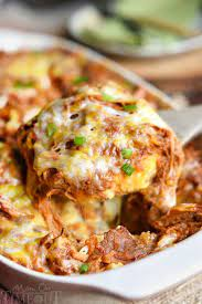 Add diced carrots or peas for extra nutrition and a pop of color. The 50 Most Delish Casseroles Pork Casserole Recipes Leftover Pork Recipes Pulled Pork Leftover Recipes