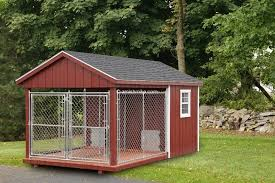 8 x 14 double kennel