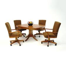 Design Chairs On Casters For Dining Table  Dining Room - Casters for dining room chairs