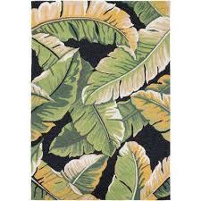 covington rainforest forest green black 6 ft x 8 ft indoor outdoor
