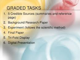 Writing a Research Paper for Your Science Fair Project SAMPLE RESEARCH PAPER FOR SCIENCE FAIR Comment  m    IF Then Format Comment