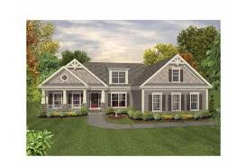 Eplans Country House Plan   Craftsman Ranch   all the Luxuries    Front