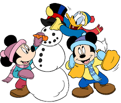 Winter Clip Art #10092 | Character design, Mickey, Mickey mouse and friends