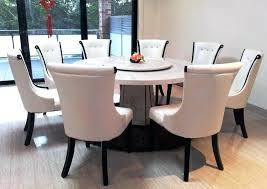 full size of glass top dining table set 8 chairs seater round room wonderful marble for