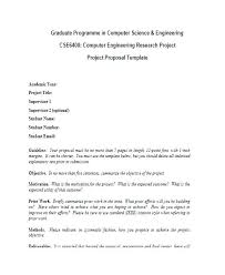 Proposal Sample For Project Idm Group Co