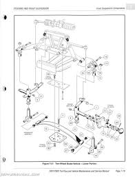Repairmanual gas club car parts diagram 2001 2002 club car turf 1 2 6 carryall