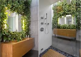 ... Be creative and find ways to bring nature into the bathroom