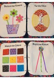 wish i could make this more cute quiet book ideas