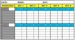 workout template excel workout journal excel template we are all about workouts