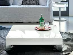 coffee table modern target point square high gloss white genesis round swiveling