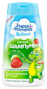 <b>Happy Moments</b> Дракоша <b>Шампунь</b> с ароматом земляники ...