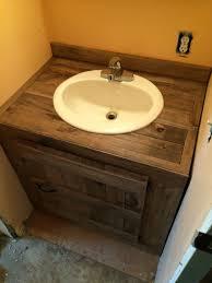 stylish modular wooden bathroom vanity. Another Bathroom Vanity Made From Pallet Wood Stylish Modular Wooden