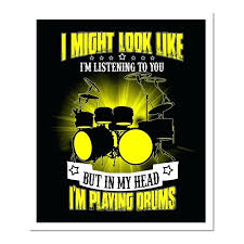 >0 drum set metal wall art playing my drums shirt for drummers drums  0 drum set metal wall art playing my drums shirt for drummers drums wall art