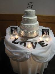 Wedding Gift Table Decorations Sign And Ideas So doing this love the parents pictures tea lights Want a word 35