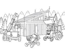 construction equipment coloring pages free library