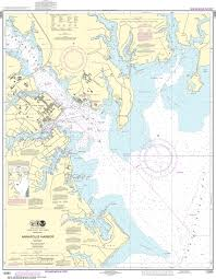 Noaa Nautical Chart 12283 Annapolis Harbor