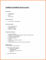 Business Plan Outlineplate Doc Bestplates Free Example