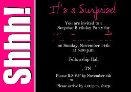 Birthday Invitation Pictures Simple Surprisebirthdayinvitation 48greetings