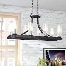 astounding design arturo 8 light rectangular chandelier awesome best fixture images on