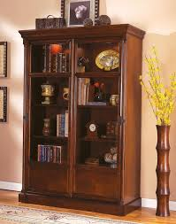 furniture mesmerezing bookcases with glass doors give a