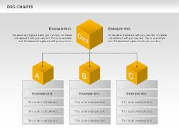 Org Chart Google Slides Organizational Chart With Cubes Presentation Template For