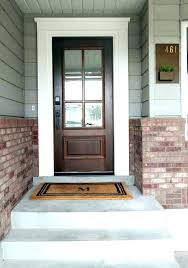White front door with glass Entrance Exterior Door With Side Window Front Door Panel Doors Glass Exterior Steel Dark Wooden With Exterior Door Jalapenosonlineco Exterior Door With Side Window Door With One Sidelight Marvelous