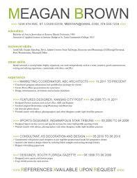Color On Resume Wonderful 726 Using Color In Resume Blackdgfitnessco