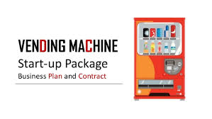 Starting A Vending Machine Company Mesmerizing Vending Machine Startuppackagebusinessplanandcontract