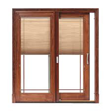 Fine Patio Doors With Built In Blinds O To Design
