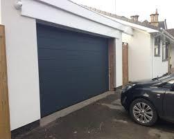 hormann garage doorMatching Anthracite Grey Solidor Milano front door and Hrmann