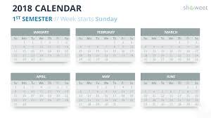 calendar template for powerpoint 2018 calendar powerpoint templates