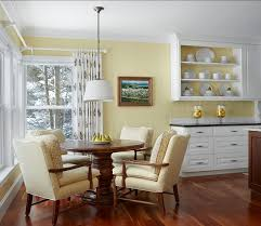 yellow country kitchens. Kitchen. Country Kitchen Design. Traditional Yellow With  White Cabinets. #Kitchen Yellow Country Kitchens A