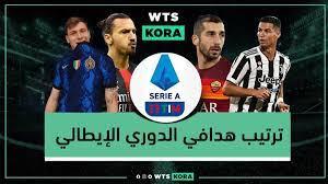 جدول ترتيب هدافي الدوري الإيطالي 2021-2022