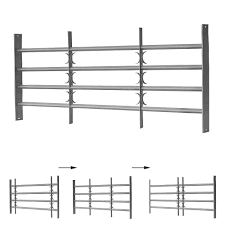 60x100 150cm Fenstergitter Einbruchschutz Stahl Kaufen Bei