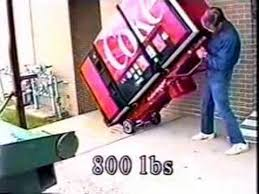 Vending Machine Hand Truck Delectable Lectrotruck Moving Vending Machines YouTube