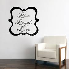live laugh love wall words wall decals stickers