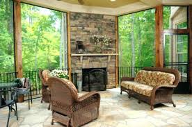 sunrooms with fireplaces designs patio stone and fireplace traditional s ideas sunroom d15 fireplace
