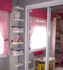 bedroom shelf designs. view in gallery cute shelves for your baby girl\u0027s bedroom shelf designs s
