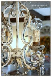 french chandelier faux finish chalk paint from my front porch to yours