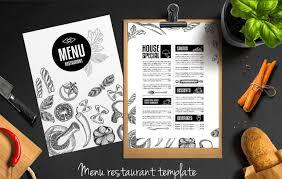 Top 37 Free Low Cost Restaurant Menu Templates