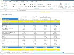 Sample House Budget Nses Template Monthly Excel Business Nse Sample Household