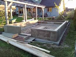 a strip foundation
