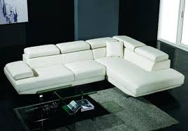 sleek living room furniture. Modern And Sleek White Sectional Sofa Design Living Room Furniture R