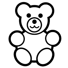Small Picture Printable Teddy Bear Coloring Pages 41 For Your Pictures with