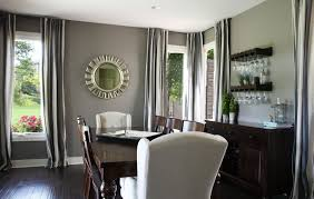 gray dining room paint colors. Marvelous Grey Dining Room Paint Color With Elegant Wooden Table Ideas Gray Colors L