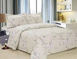 french cream rose 6 piece luxurious duvet sets