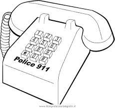 Disegno Telefono Misti Da Colorare