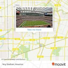 how to get to nrg stadium in houston by