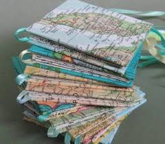 Map Covers - Creative DIY Book Cover Ideas, http://hative.com